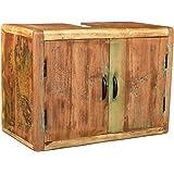 sp lenschrank inkl becken aus massivholz wei antik modell ardoise k che haushalt. Black Bedroom Furniture Sets. Home Design Ideas
