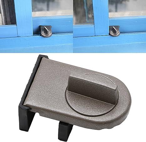 zhangyo bebé niños seguridad infantil ventana de transferencia puerta corredera cerradura de seguridad tope de puerta: Amazon.es: Bebé