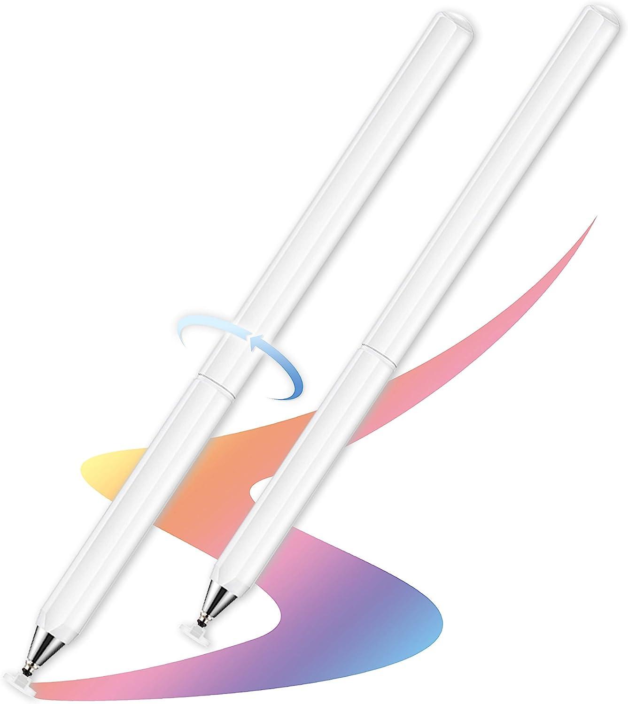 スタイラスペンユニバーサル高感度 & 精度容量性ディスクチップタッチスクリーンペンスタイラス iPhone/iPad/PRO/サムスン/ギャラクシー/タブレット/Kindle/iWatch用
