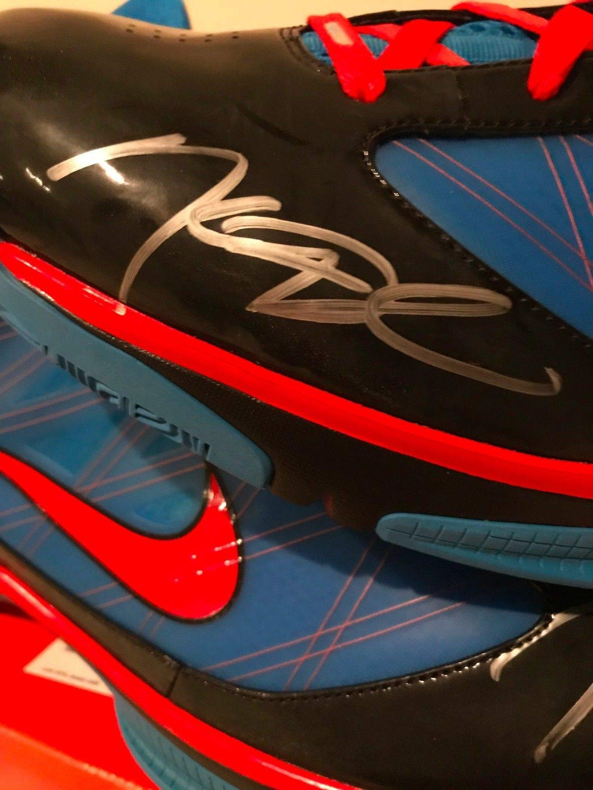 Kevin Kd Durant Autographed Signed Game Issued Nike Hyperize Sneakers Shoes Size 18 PSA/DNA Authentic