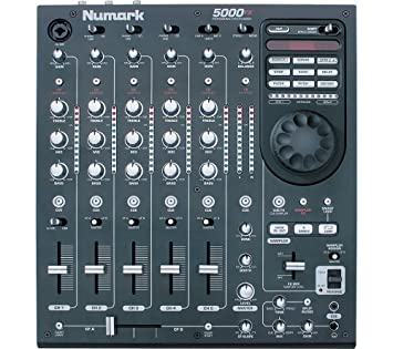 Numark 5000fx 5 channel dj mixer | numark 5000fx.
