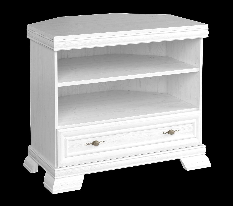 Furniture24 Tv Eckschrank Kora Krtn Eckkommode Lowboard