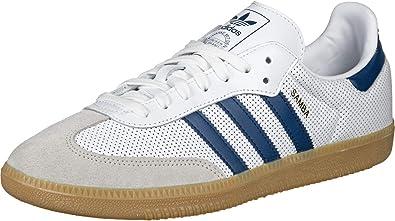 Adidas Samba OG BD7545 (White-Blue) 9
