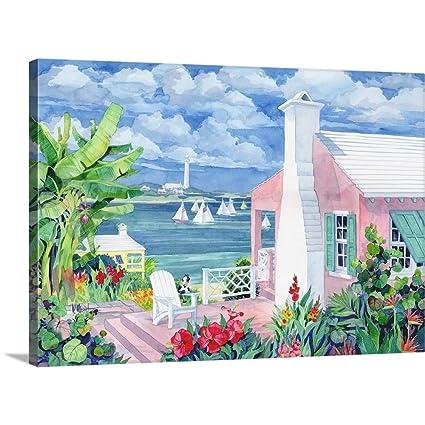 Amazon Com Greatbigcanvas Gallery Wrapped Canvas Entitled