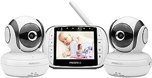Motorola MBP36S-2 Video Baby Monitor -Two Cameras, 3.5