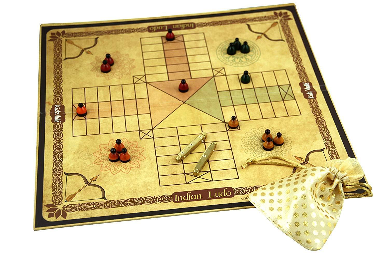 Classic Indian Board Games (Indian Ludo (Pagadeyaata,Barakatta)) (B07YB1DP9Q) Amazon Price History, Amazon Price Tracker