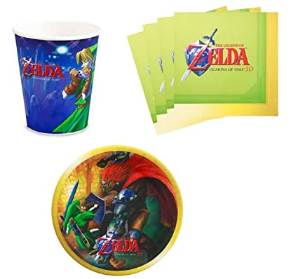 Amazon.com: The Legend of Zelda Fiesta de cumpleaños ...