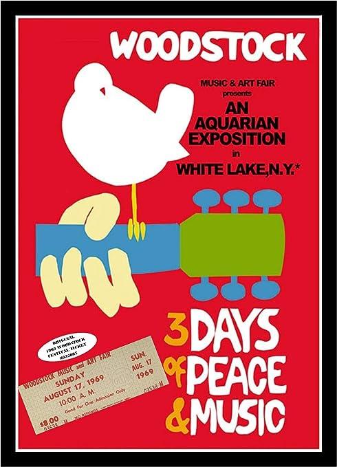 WOODSTOCK CONCERT 1969 Original Poster