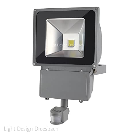 Conjunto de 4 LED con sensor de movimiento foco Light Design dreesbach, IP65, COB