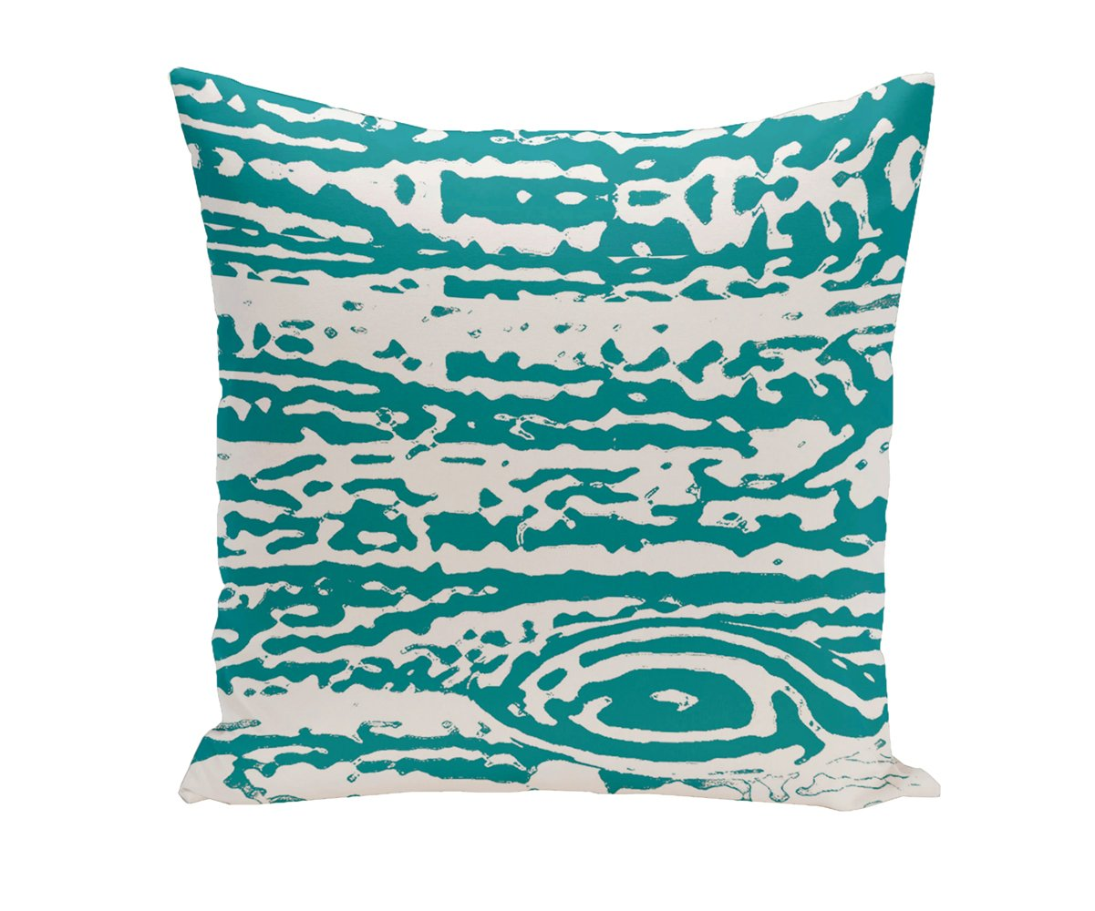 Ebydesign Abstract Decorative Pillow Red
