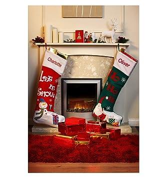 personalised extra large christmas stocking red - Extra Large Christmas Stockings