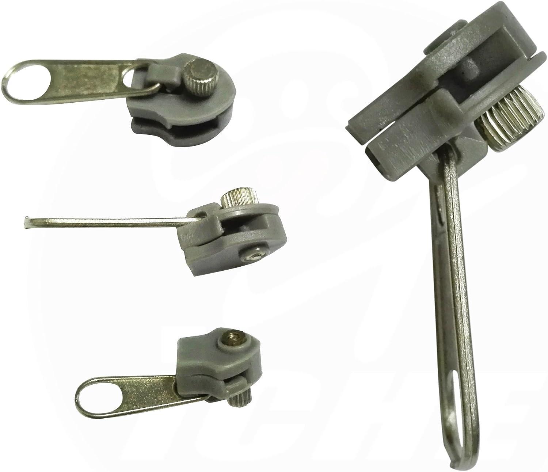Universal Zipper Repair Kit Metal Replacement Fix Zippers Instant Zip Zipper New