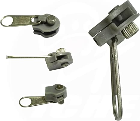 Clip On Replacement Metal Zipper Zip Pull Easy To Use Repair