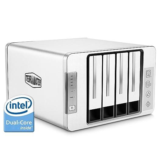 49 opinioni per TerraMaster F4-220 Serveur NAS 4 Bay Intel Dual Core 2.41GHz 2 Go de RAM