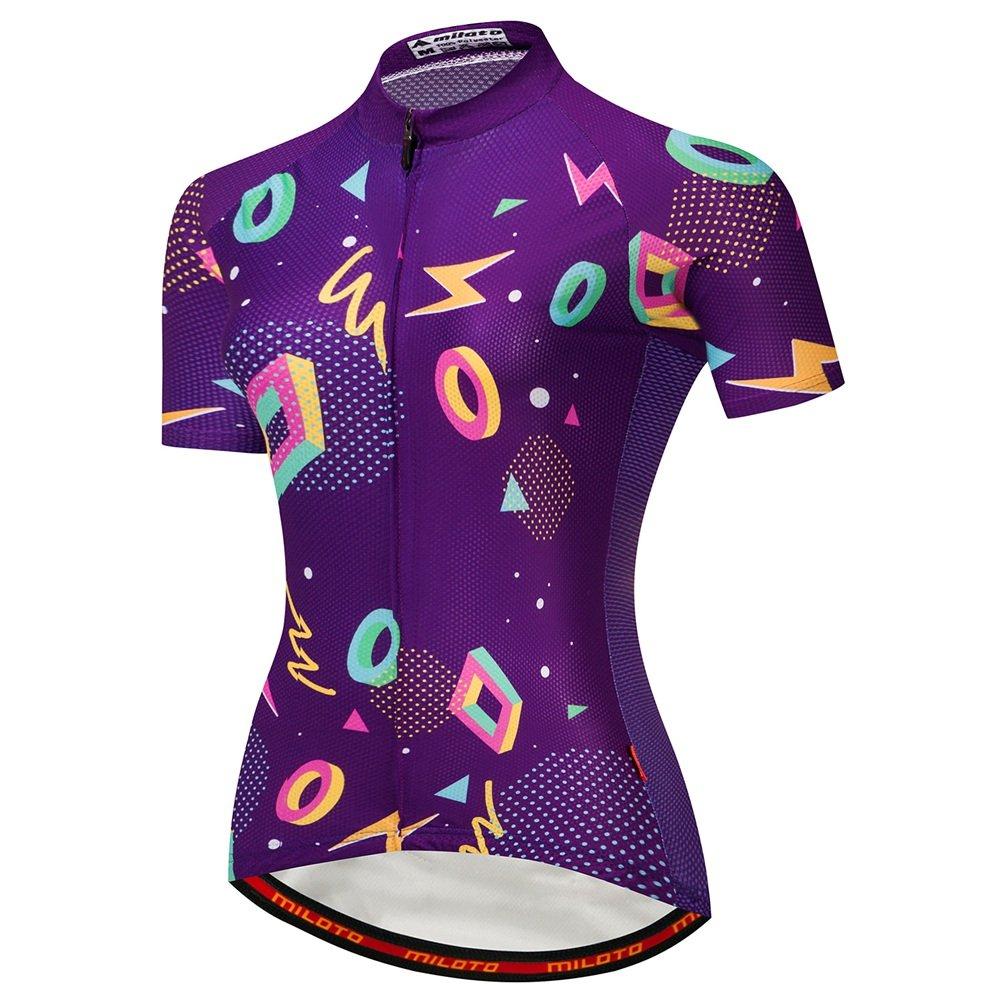Uriah Women's Cycling Jersey Short Sleeve Tights Pro Miloto