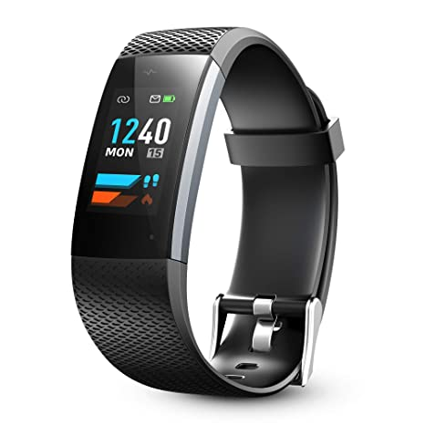 Lenovo Fitness Tracker, Original Fitness Tracker Heart Rate Monitor, Color Screen Sport Smart Watch, IP67 Waterproof Activity Tracker, Step Calorie ...