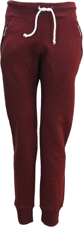 Fashion Oasis Womens Zip Plain Tracksuit Jogging Bottoms Pants