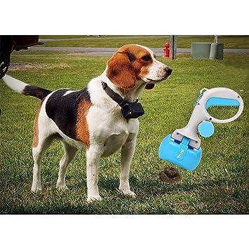 HLMF Pet Pooper Scoopers Dog Cat Herramientas para palear Mascotas con Mango Largo 2 en 1 Mascotas Recoger el Inodoro: Amazon.es: Hogar