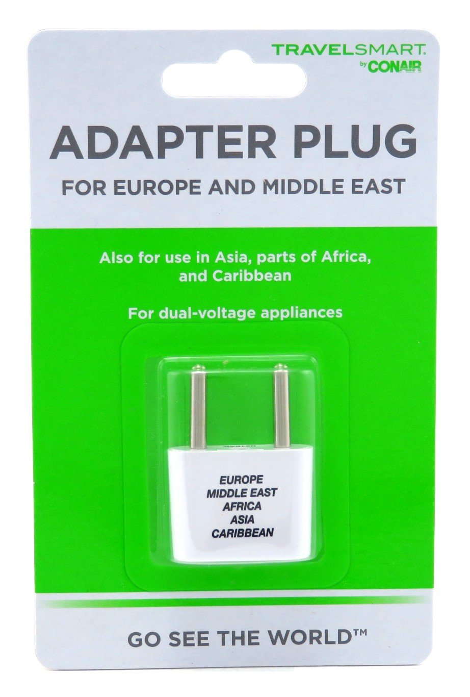 Conair Travel Smart Adapter Plug (6 Pack)