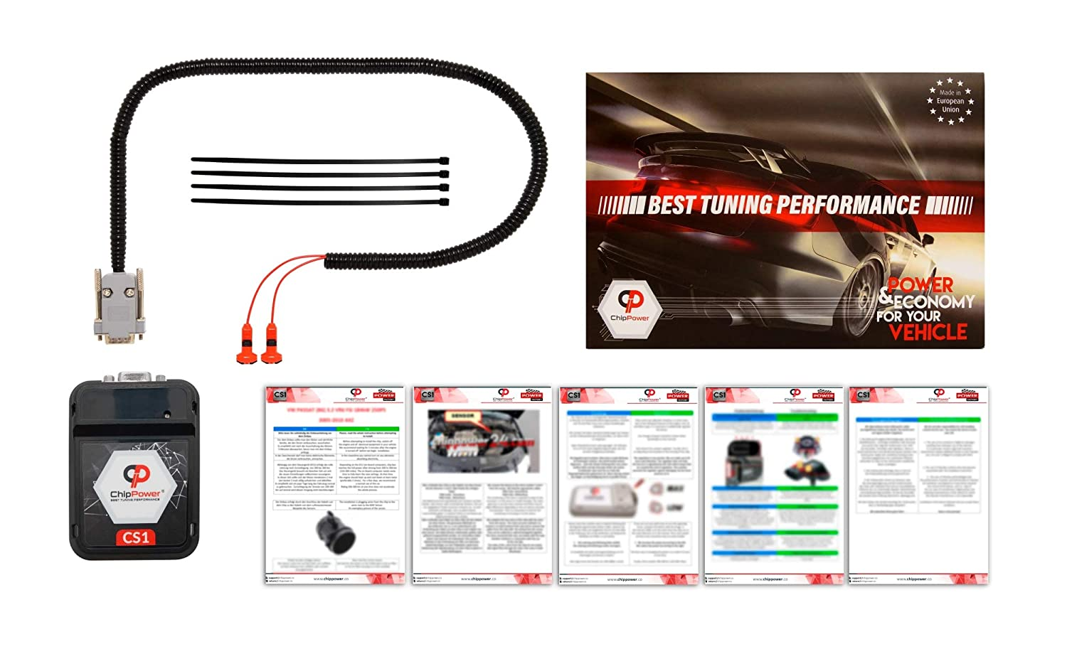 Boitier Additionnel CS1 pour NEW BEETLE 2.0 115CV 1999-2011 Chip Tuning Essence