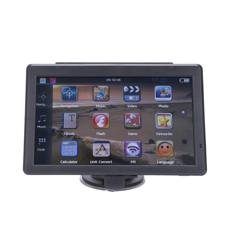 TOOGOO 5 Car Navigator GPS Contact Screen Navigation Voice Navigator 128MB 8GB MP3//MP4 FM North America Map