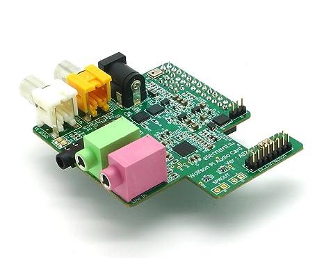 Wolfson Pi - Tarjeta de Audio para Ordenador Raspberry Pi ...
