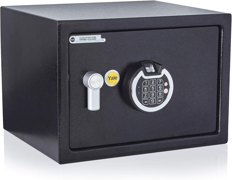 Yale YSF/250/DB1-Medium Caja Fuerte para Huellas Digitales: Amazon.es: Bricolaje y herramientas