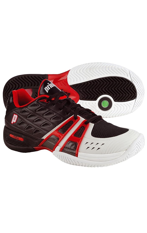 8P377-013 Black//White Prince T24 Men/'s Tennis Shoes Brand New!