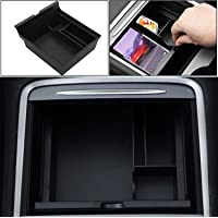 DIBMS Center Console Organizer Tray Compatible with Latest 2021 Tesla Model 3/Y Armrest Storage Box Hidden Cubby Drawer…