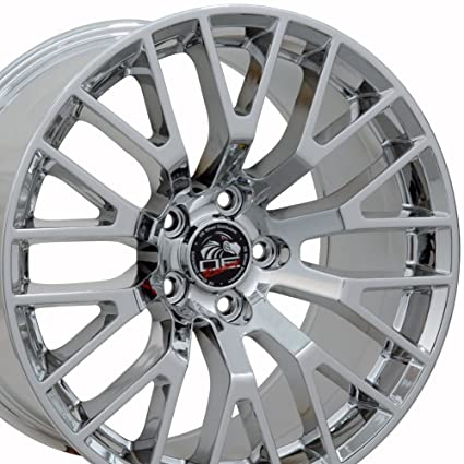 X X Wheels Fit Ford Mustang  Gt Style Rims Pvd Chrome