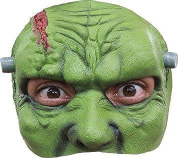 Générique AEC - mahal673 - Semimáscara Látex Adulto Frankenstein: Amazon.es: Juguetes y juegos