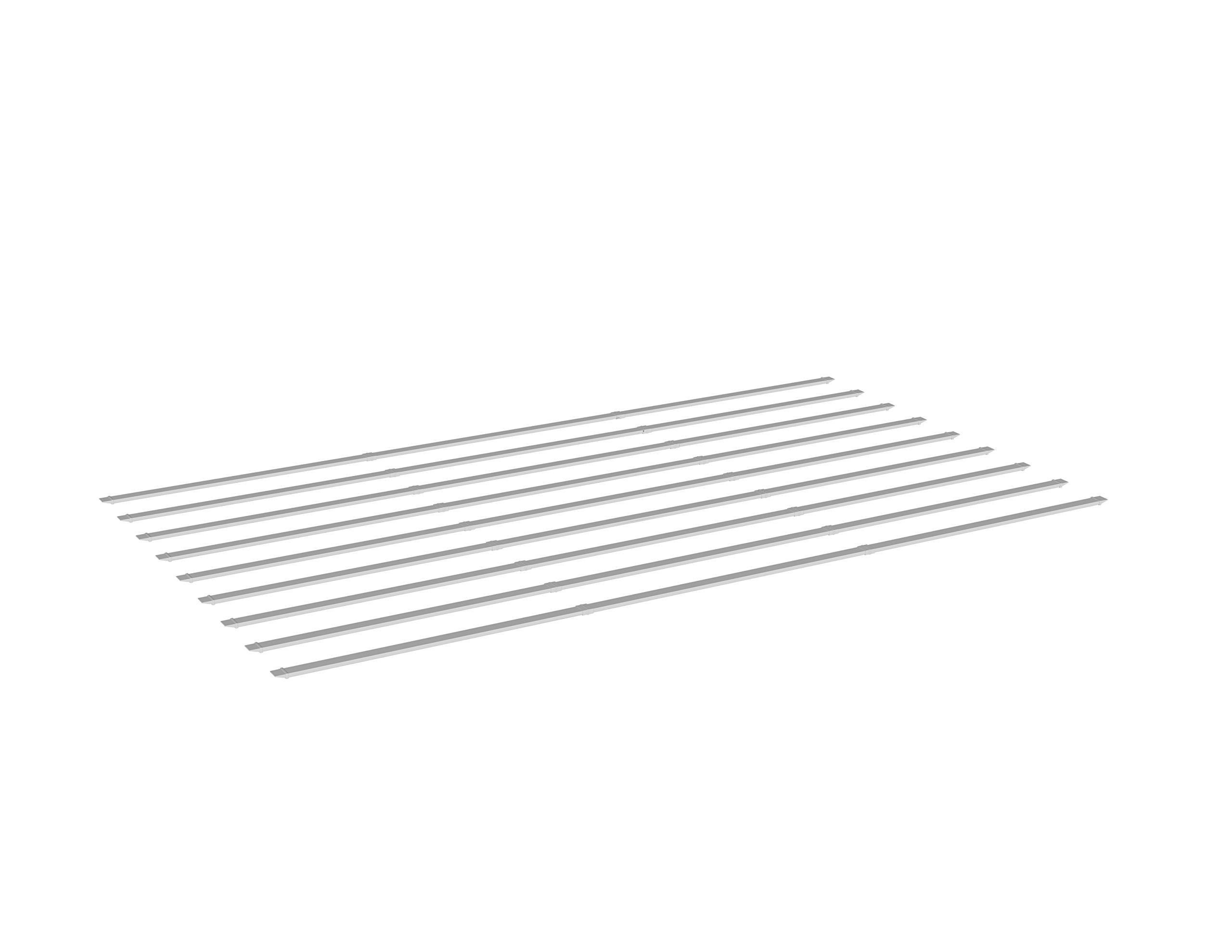 New England Arbors VA42087 Additional 12x16 Shade Kit Arbors, White