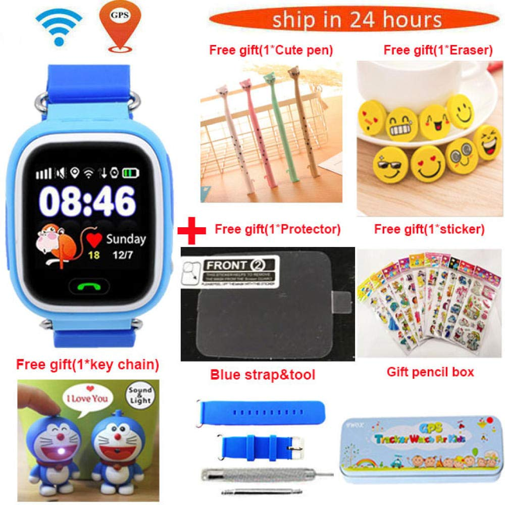 Relojes Inteligentes Gps Q90 Wifi Posicionamiento Smart Watch ...