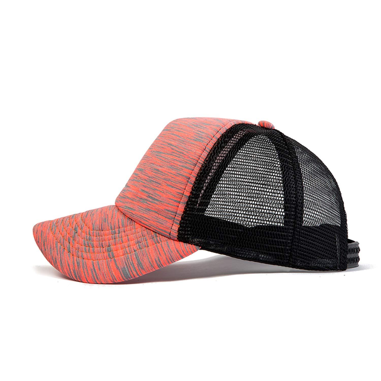 Baseball Cap Women Solid Color Cap Grid Summer Spring Baseball Hat Girls Cap
