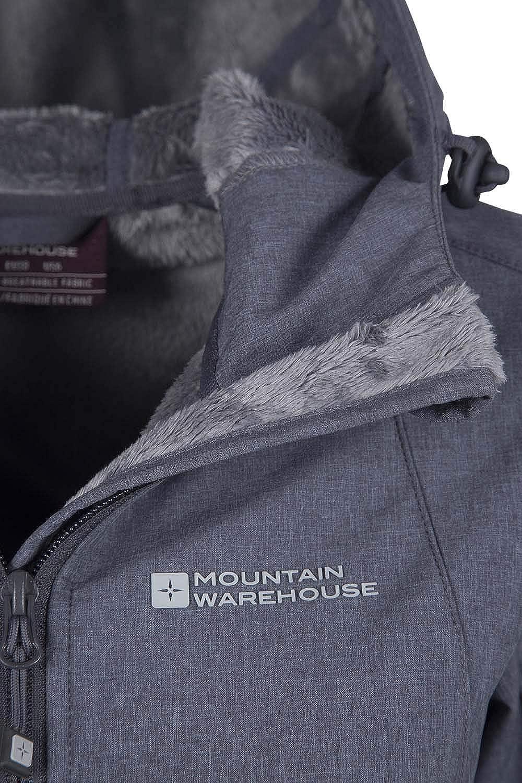 Mountain Warehouse Oak Lange Softshelljacke Mantel mit Struktureffekt für Damen