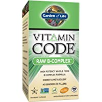 120-Count Garden of Life Vitamin Code Raw B Complex Capsules (Vegan)