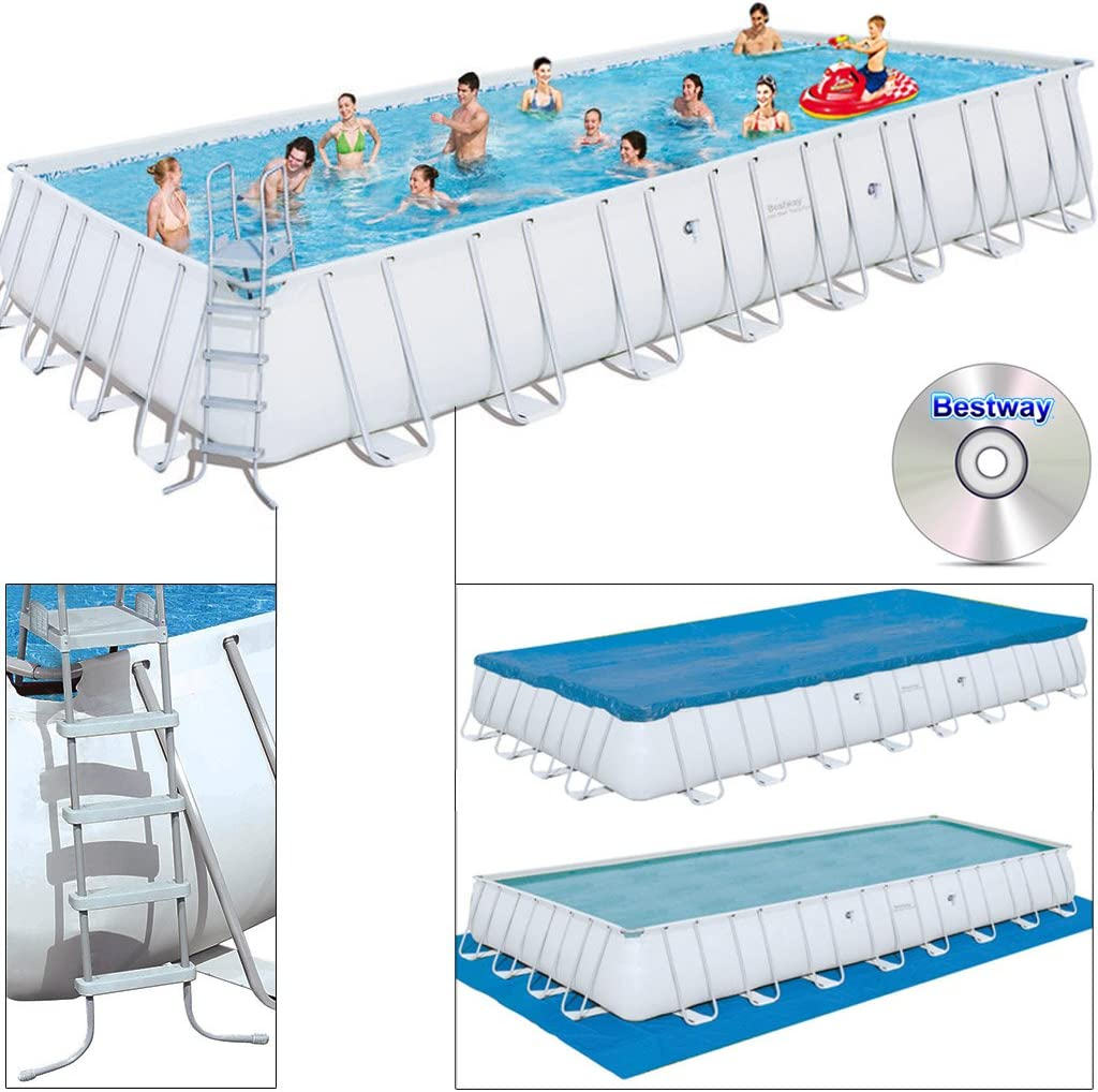 Bestway Frame Pool Power Steel Set, 549 x 274 x 122 cm