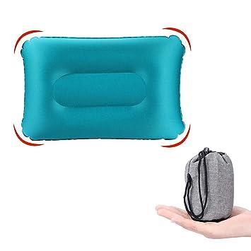 Amazon.com: Kuyou almohada de viaje inflable ultraligera ...