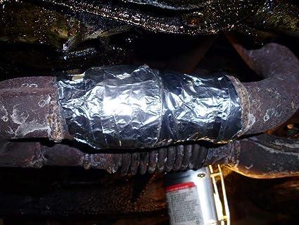 Full Exhaust Silencer Repair Bandage Rap Around Fix Heat Proof