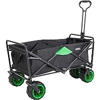 Umi. Essentials Carro Plegable con Rueda Todoterreno, Carro de Mano Carrito Playa Carro Transporte para Jardín,100 kg de…