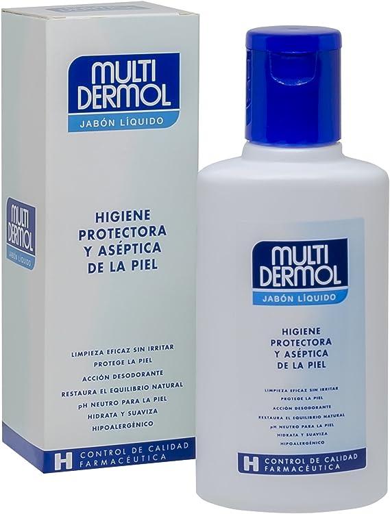 Multidermol Jabón Liquido - Formato viaje o ducha, 150 ml