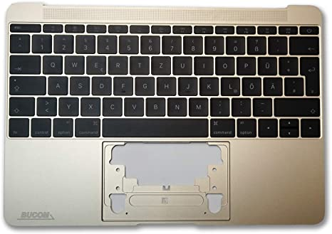 New For Macbook 12/'/' A1534 keyboard with backlight Case Topcase silver//gray//gold