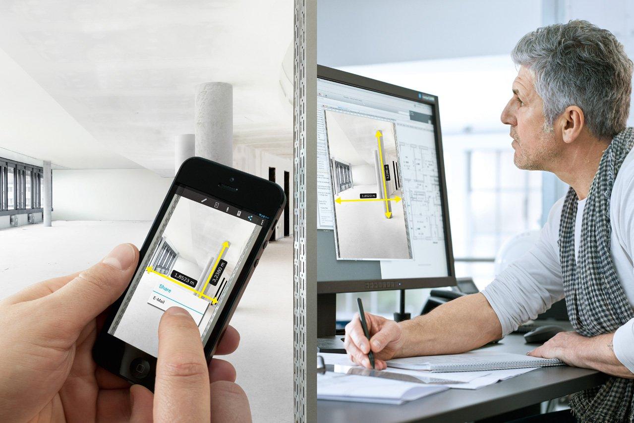 Bosch professional laser entfernungsmesser glm c digitales