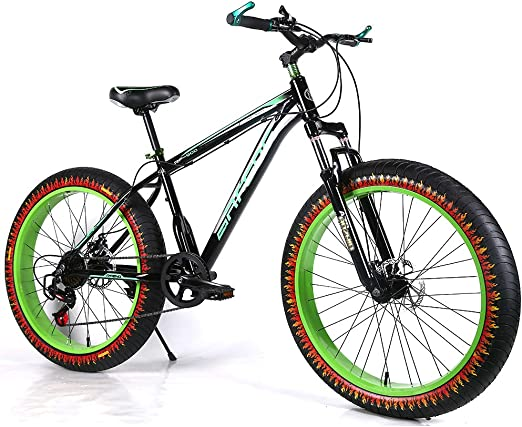 YOUSR Bicicleta rígida MTB 24 Pulgadas Dirt Bike Shimano 21 Speed ...