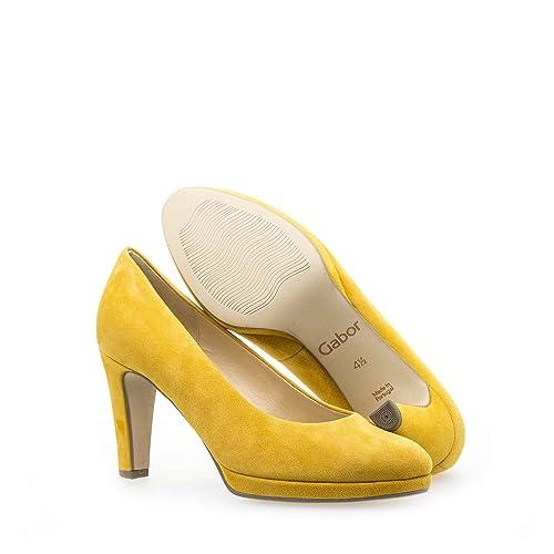 df48c83e78d8a Gabor Plateau Pumps 21.270.12 gelb: Amazon.de: Schuhe & Handtaschen