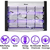 Electric Indoor Bug Zapper, ABsuper Indoor Mosquito Fly Insect Killer 20W 6000sq.ft Coverage for Home Garden Stable Warehouse