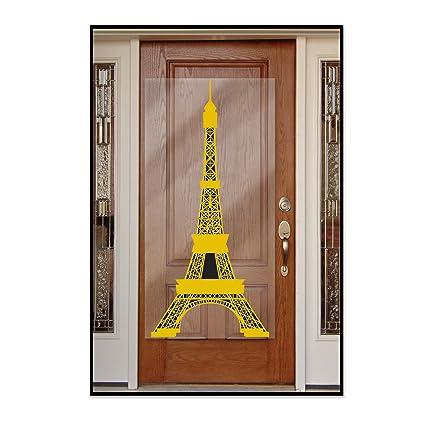 Gold//Black Beistle Eiffel Tower Door Cover 30 x 5