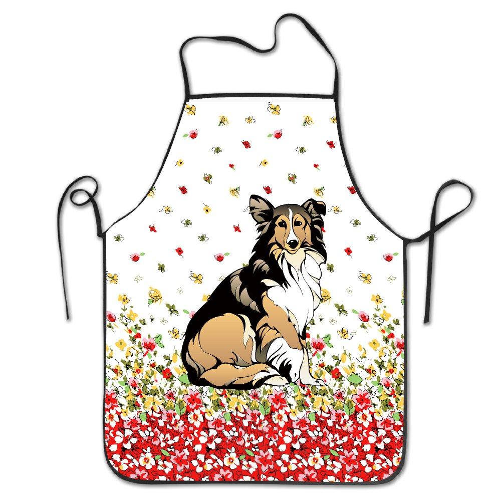 ラフコリー犬' Love You Dad ' Tea Mugキッチン料理BBQ Apron B072L128SB