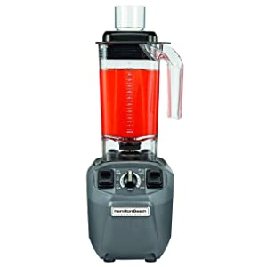 Hamilton Beach Commercial Expeditor Culinary Food Blender, 2.4 HP, Variable Speed, Chop Function, 48 oz BPA Free (HBF510)