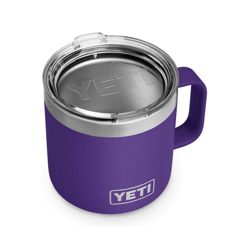 YETI Rambler 14 oz Stainless Steel Vacuum Insulated Mug with Lid